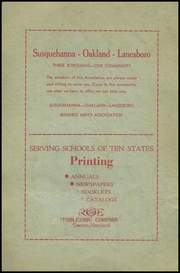 Page 2, 1939 Edition, Thompson Vocational High School - Owl Yearbook (Thompson, PA) online yearbook collection
