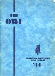 1944 Edition, Thompson Vocational High School - Owl Yearbook (Thompson, PA)