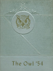 1954 Edition, Thompson Vocational High School - Owl Yearbook (Thompson, PA)