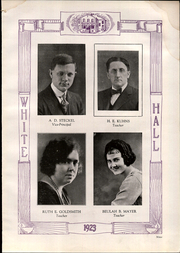 Page 13, 1923 Edition, Whitehall High School - Whitehall Yearbook (Hokendauqua, PA) online yearbook collection