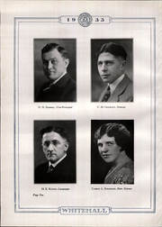 Page 16, 1933 Edition, Whitehall High School - Whitehall Yearbook (Hokendauqua, PA) online yearbook collection