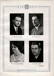 Page 17, 1933 Edition, Whitehall High School - Whitehall Yearbook (Hokendauqua, PA) online yearbook collection