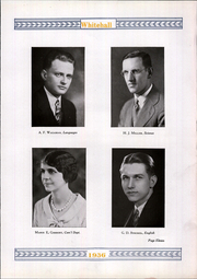 Page 15, 1936 Edition, Whitehall High School - Whitehall Yearbook (Hokendauqua, PA) online yearbook collection