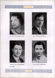 Page 16, 1936 Edition, Whitehall High School - Whitehall Yearbook (Hokendauqua, PA) online yearbook collection