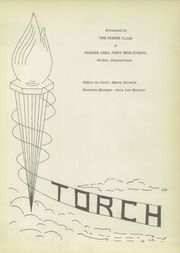 Page 5, 1953 Edition, Parker High School - Torch Yearbook (Parker, PA) online yearbook collection