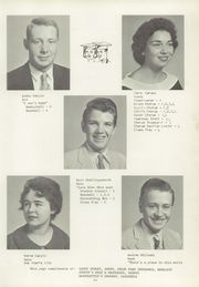Page 15, 1959 Edition, Bennetts Valley High School - Valley View Yearbook (Weedville, PA) online yearbook collection