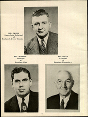 Page 8, 1951 Edition, Burnham High School - Burgoblac Yearbook (Burnham, PA) online yearbook collection