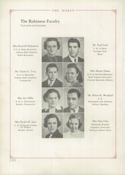 Page 14, 1940 Edition, Robinson Township High School - Robin Yearbook (McKees Rocks, PA) online yearbook collection