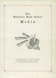 Page 5, 1940 Edition, Robinson Township High School - Robin Yearbook (McKees Rocks, PA) online yearbook collection