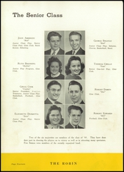Page 16, 1941 Edition, Robinson Township High School - Robin Yearbook (McKees Rocks, PA) online yearbook collection