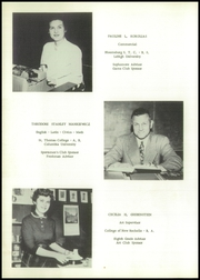 Page 14, 1955 Edition, Matamoras High School - Delaware Yearbook (Matamoras, PA) online yearbook collection
