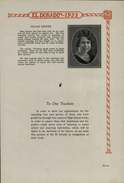 Page 13, 1932 Edition, East Lampeter High School - El Dorado Yearbook (Lancaster, PA) online yearbook collection