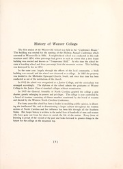 Page 9, 1920 Edition, Weaver College - Mountaineer Yearbook (Weaverville, NC) online yearbook collection