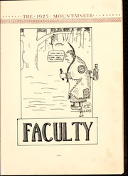Page 17, 1925 Edition, Weaver College - Mountaineer Yearbook (Weaverville, NC) online yearbook collection