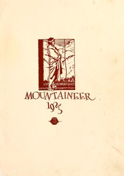 Page 5, 1925 Edition, Weaver College - Mountaineer Yearbook (Weaverville, NC) online yearbook collection