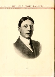 Page 8, 1925 Edition, Weaver College - Mountaineer Yearbook (Weaverville, NC) online yearbook collection