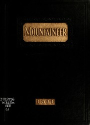 1931 Edition, Weaver College - Mountaineer Yearbook (Weaverville, NC)