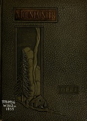 1933 Edition, Weaver College - Mountaineer Yearbook (Weaverville, NC)