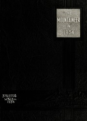 1934 Edition, Weaver College - Mountaineer Yearbook (Weaverville, NC)