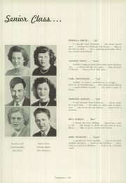 Page 16, 1948 Edition, Cooper Township High School - Coopernian Yearbook (Winburne, PA) online yearbook collection