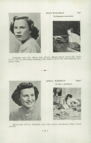 Page 16, 1949 Edition, Upper Leacock High School - Leolette Yearbook (Leola, PA) online yearbook collection