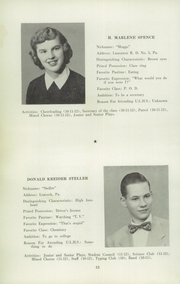 Page 10, 1952 Edition, Upper Leacock High School - Leolette Yearbook (Leola, PA) online yearbook collection