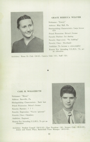 Page 12, 1952 Edition, Upper Leacock High School - Leolette Yearbook (Leola, PA) online yearbook collection