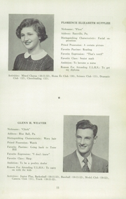 Page 13, 1952 Edition, Upper Leacock High School - Leolette Yearbook (Leola, PA) online yearbook collection