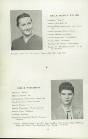 Page 14, 1952 Edition, Upper Leacock High School - Leolette Yearbook (Leola, PA) online yearbook collection