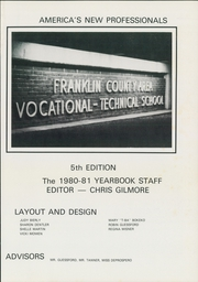 Page 5, 1981 Edition, Franklin County Vocational Technical School - Yearbook (Chambersburg, PA) online yearbook collection