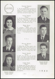 Page 15, 1943 Edition, Black Creek High School - Laurel Yearbook (Rock Glen, PA) online yearbook collection