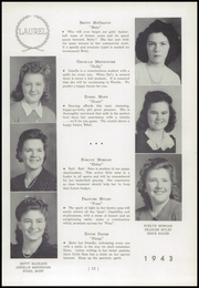 Page 17, 1943 Edition, Black Creek High School - Laurel Yearbook (Rock Glen, PA) online yearbook collection