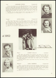 Page 17, 1952 Edition, Black Creek High School - Laurel Yearbook (Rock Glen, PA) online yearbook collection