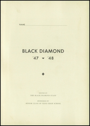 Page 5, 1948 Edition, Sligo High School - Black Diamond Yearbook (Sligo, PA) online yearbook collection