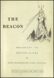 Page 3, 1948 Edition, Newton Ransom High School - Beacon Yearbook (Clarks Summit, PA) online yearbook collection