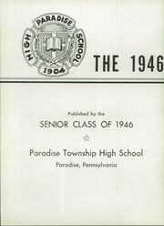 Page 6, 1946 Edition, Paradise Township High School - Tanawan Yearbook (Paradise, PA) online yearbook collection