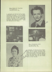Page 13, 1954 Edition, Wernersville High School - Chieftain Yearbook (Wernersville, PA) online yearbook collection