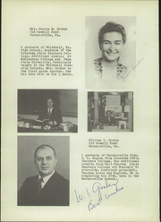 Page 14, 1954 Edition, Wernersville High School - Chieftain Yearbook (Wernersville, PA) online yearbook collection