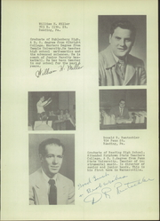 Page 17, 1954 Edition, Wernersville High School - Chieftain Yearbook (Wernersville, PA) online yearbook collection