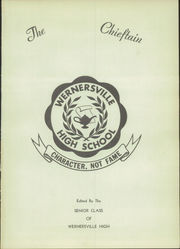Page 5, 1954 Edition, Wernersville High School - Chieftain Yearbook (Wernersville, PA) online yearbook collection