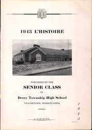 Page 5, 1943 Edition, Derry Township High School - L Histoire Yearbook (Yeagertown, PA) online yearbook collection