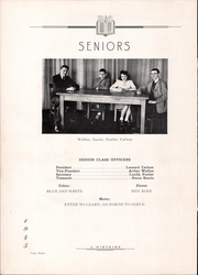 Page 12, 1945 Edition, Derry Township High School - L Histoire Yearbook (Yeagertown, PA) online yearbook collection