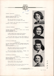 Page 17, 1945 Edition, Derry Township High School - L Histoire Yearbook (Yeagertown, PA) online yearbook collection