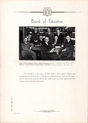 Page 8, 1945 Edition, Derry Township High School - L Histoire Yearbook (Yeagertown, PA) online yearbook collection