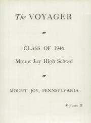 Page 7, 1946 Edition, Mount Joy High School - Voyager Yearbook (Mount Joy, PA) online yearbook collection