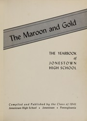 Page 5, 1941 Edition, Jonestown High School - Maroon and Gold Yearbook (Jonestown, PA) online yearbook collection