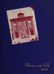 1944 Edition, Jonestown High School - Maroon and Gold Yearbook (Jonestown, PA)