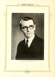Page 12, 1930 Edition, Rutherford College - Foot Hills Yearbook (Rutherford College, NC) online yearbook collection