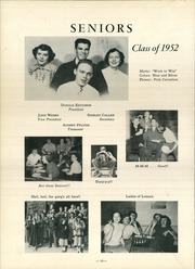 Page 14, 1952 Edition, Penn Township High School - Penn Yearbook (Butler, PA) online yearbook collection