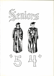 Page 9, 1954 Edition, Penn Township High School - Penn Yearbook (Butler, PA) online yearbook collection